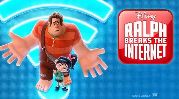 Ralph break The Internet:Wreck It Ralph2